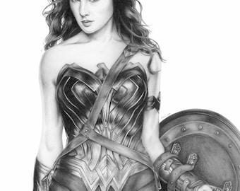 Wonder Woman - 8x12 print