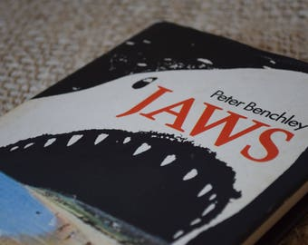 Jaws. Peter Benchley. Hardback with Dustjacket. Book Club Associates 1975