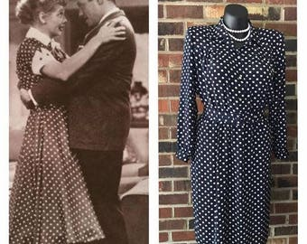 Vintage Henry Lee Petites Dress