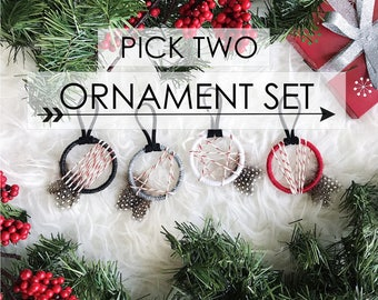 Small Gifts for Friends, Bohemian Christmas Tree Decorations, Mini Dreamcatcher Ornament, Creative Christmas Gifts, Best Stocking Stuffers