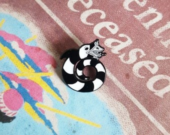 Beetlejuice SandWorm Lapel Pin By VOIDEaD