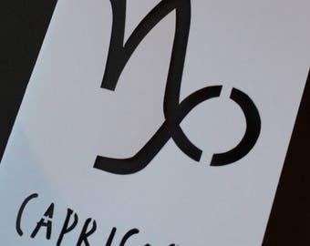 Capricorn Card