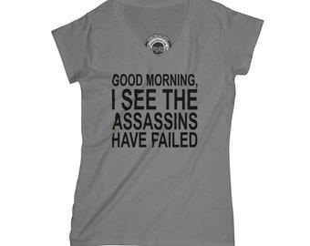 Sarcastic t-shirt morning person shirt funny t-shirt assassins t-shirt hipster t-shirt anime t-shirt graphic t-shirt aesthetic t-shirt APV20