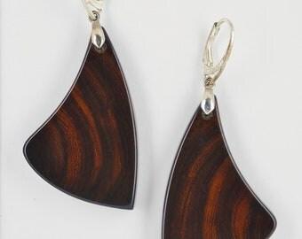 Iron wood Earrings