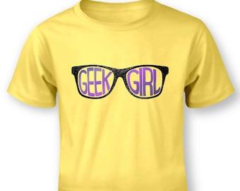 Geek Girl baby t-shirt
