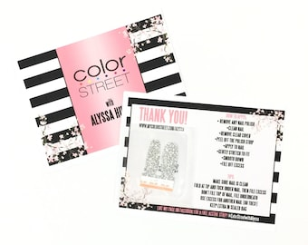 Color Street Thank You Card