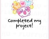 Wow! Panda Mimi || Planner Stickers, Cute Stickers for Erin Condren (ECLP), Filofax, Kikki K, Etc. || MTP34