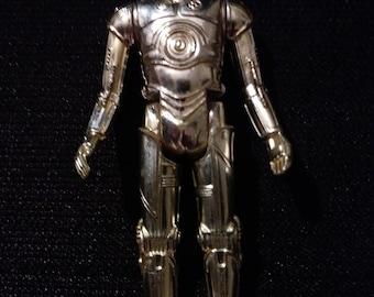 "Vintage Star Wars 1977 ""C-3PO"" action figure"