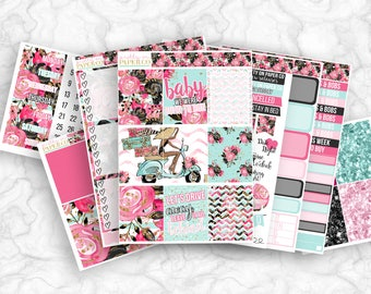 Lolita No White-Space Weekly Kit - Planner Stickers