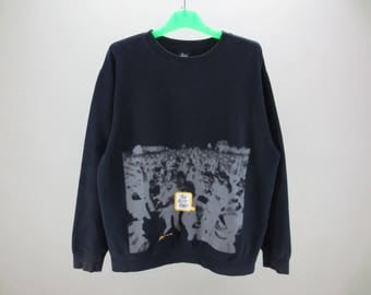 """Stussy Sweatshirt Stussy Pullover Stussy Casual Sweat """"Too Much Posse"""" Mens Size L"""