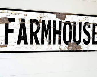 Vertical Farmhouse Sign For Kitchen Large Farmhouse Sign Farmhouse Sign Fixer Upper Farmhouse Decor Rustic Home Decor Fixer Upper Style