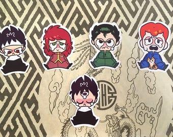 Yu Yu Hakusho Stickers
