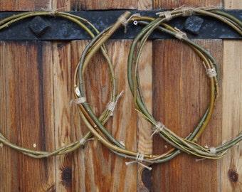 Willow hoop dreamcatcher Twigs One size rings Handmade wreath natural circle Art craft supplies DIY dreamcatcher boho decors