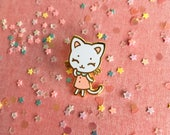 Tiny Kitten Hard Enamel Pin - Standard (A) Grade