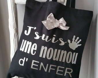 The tote bag special for your nanny!