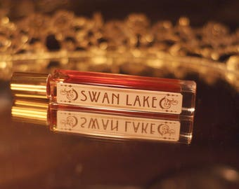 new! SWAN LAKE ~ Lotus, Vetiver, Oud, Florals, Fenugreek & Black Pepper by theater potion , natural perfume oil
