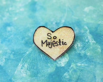 SALE Believe in Magic Collection - Pretty Yellow So Majestic Pin