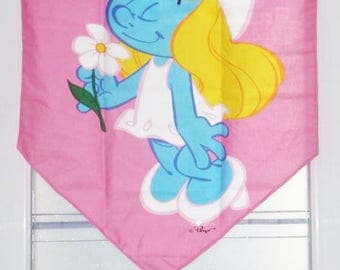 Curtain tier SMURFETTE - curtain for room child