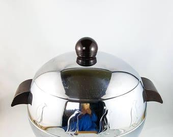 Mid Century Double Walled Penguin Ice Bucket