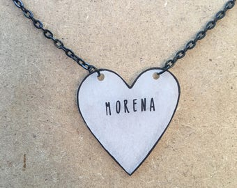 Morena : Heart-Shaped Necklace