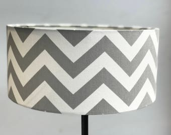 Chevron lamp shade | Etsy