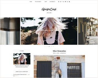 Clémentine | Réactif de Blogger + Installation gratuite