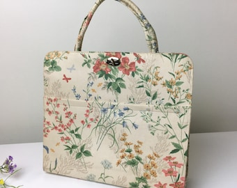 70's Margaret Smith Floral Handbag
