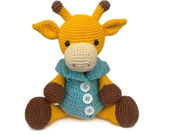 SALE! crochet giraffe, amigurumi giraffe, interior giraffe, stuffed giraffe, stuffed animal, crochet animal, crochet toy, giraffe toy