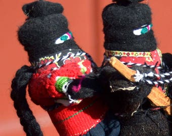 Zapatista Folk Art Doll