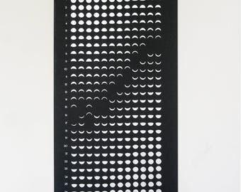 2018 Lunar Calendar (Silkcreen)