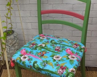 Renovated tropical chair