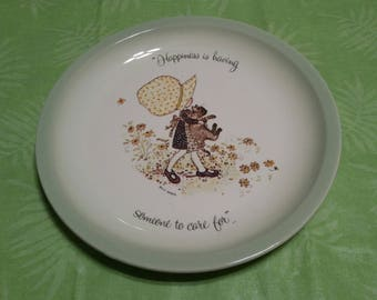 Holly Hobbie Collector's Edition Plate