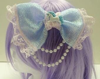 Kawaii Unicorn Hair Bow