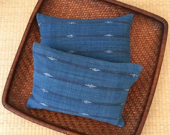 A Set of Two Organic Buckwheat Hull Travel/Support Cushions - SC1