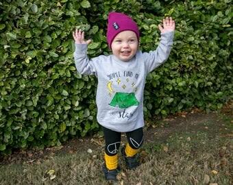 Kids Camping Sweatshirt - Toddler Camping Sweatshirt - Kids Camping Graphic Tee - Kids Sweatshirt - Kids Hoodie - Toddler Hoodie - Camping