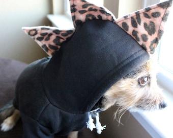Dog hoodie / dog clothes / dinosaur dog costume / pet sweater / pet sweatshirt / dinosaur dog hoodie / dinosaur dog sweatshirt / dog sweater