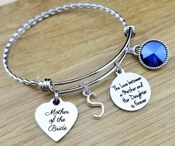 Mother of the Bride Gift Mother of the Bride Bracelet Mother of the Bride Gift From Daughter Mother of the Bride Jewelry The Love Between