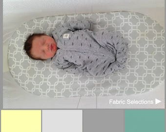 Luxury BabyBjorn Cradle fitted sheet.Silk, exclusive cotton, linen, tencel wool, bamboo.Gender neutral bassinet sheet.Modern nursery