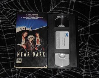 Near Dark (1987, VHS) Horror Halloween Bill Paxton Adrian Pasdar Jenny Wright Vampires Vampires Scary Gore