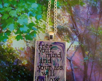 Funkadelic Free Your Mind Pendant Necklace
