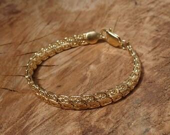 Gold Plated Snake Chain Bracelet