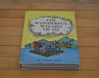 1970 HARDCOVER The Wonderful Wizard Of Oz