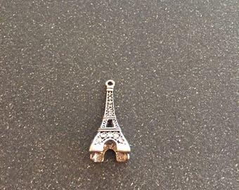 Eiffel Tower crystal charm