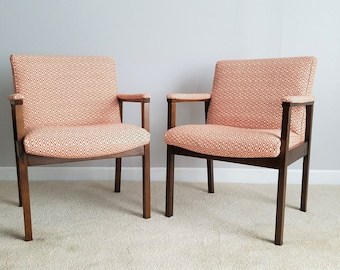 Vintage Accent Chairs - Rich New Fabric