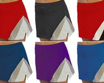 Triple Color Cheerleading Skirts