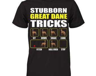 Funny Great Dane | Stubborn Great Dane Tricks | Funny Great Dane Gift Idea