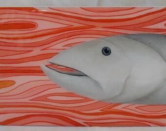 Salmon Fish Art