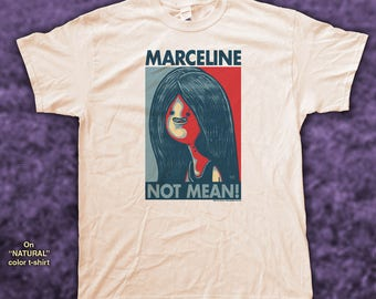 "MARCELINE ""HOPE"" style T-Shirts - pre shrunk 100% Cotton short sleeve t-shirt - Aventure Time!"