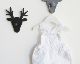 Coat - hanger wooden deer (sold per piece)