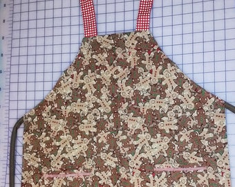 Gingerbread apron for boys